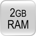 UK-204 i-Option 2GB Memory Upgrade Kit
