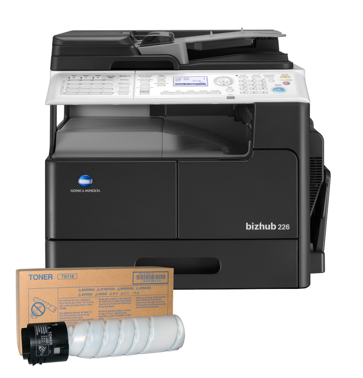 promotion&nbsp;bizhub 226 Set 1 + Toner <br>(config. 5)