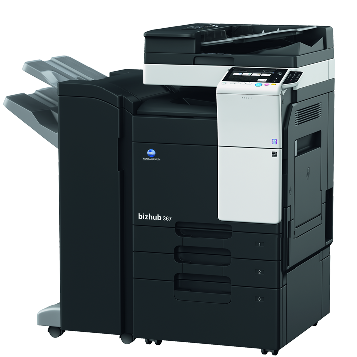 Konica Minolta bizhub 367 + DF-628, PC-413, FS-534 (C14) new product
