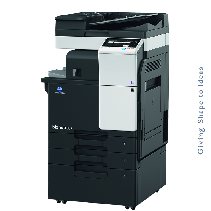 Konica Minolta bizhub 367 + DF-628, FS-533, PC-413 (C8) new product