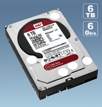 promotion Western Digital Red 6TB (WD60EFRX)