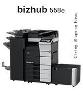 bizhub 558e Configuratii new product