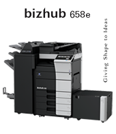bizhub 658e Configuratii new product